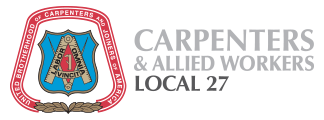 Carpenters Local 27 logo