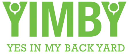 Yes In My Backyard (YIMBY) logo