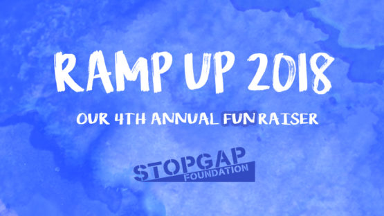 Ramp Up 2018, StopGap Foundation's 4th annual FUNraiser